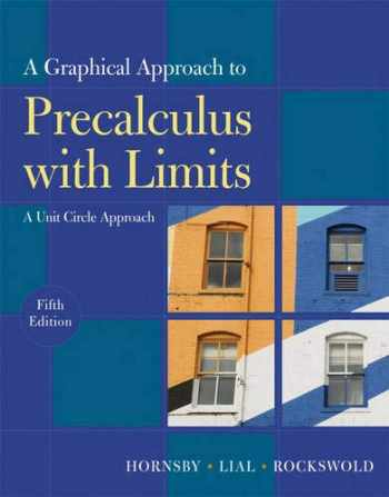 9780321644732-0321644735-Graphical Approach to Precalculus with Limits: A Unit Circle Approach,  A (5th Edition)
