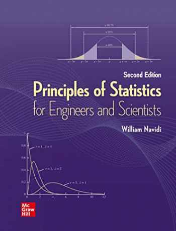 9781260442175-1260442179-Loose Leaf for Principles of Statistics for Engineers & Scientists