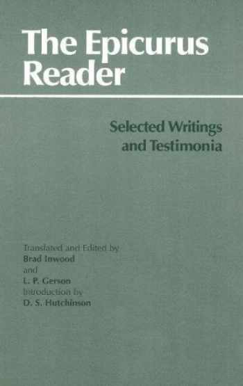 9780872202429-0872202429-The Epicurus Reader: Selected Writings and Testimonia (Hackett Classics)