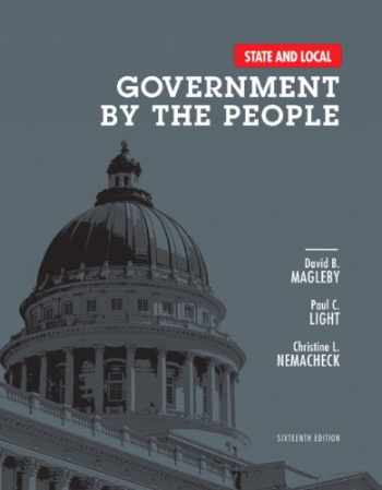 9780205962822-0205962823-State and Local Government by the People (16th Edition)