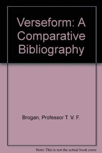 9780801833625-0801833620-Verseform: A Comparative Bibliography