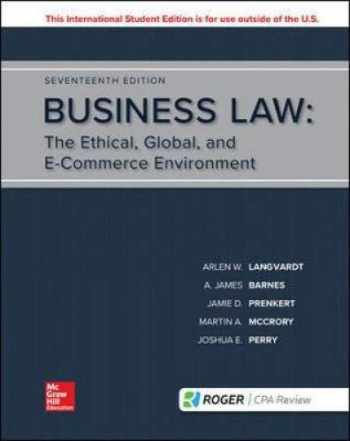 9781260091809-1260091805-Business Law