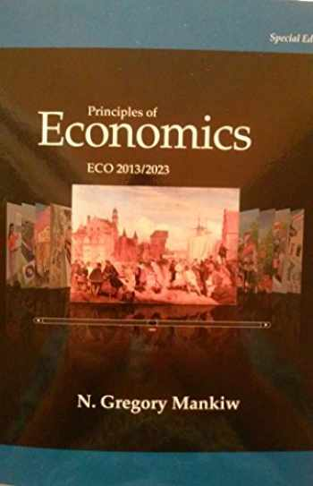 9781305046290-1305046293-Principles of Economics ECO 2013/2023 - Seventh Edition (7th) by N. Gregory Mankiw {USA Paperback Special Economy Edition}(Book only)