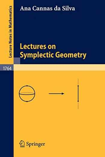 9783540421955-3540421955-Lectures on Symplectic Geometry (Lecture Notes in Mathematics (1764))