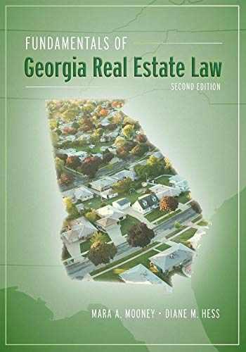 9781611638851-1611638852-Fundamentals of Georgia Real Estate Law, Second Edition