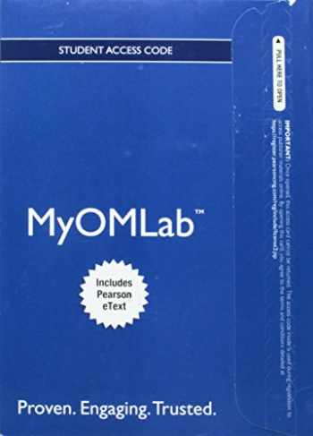 9780132870658-0132870657-NEW MyOMLab with EText - Component Access Card - for MYOMLAB