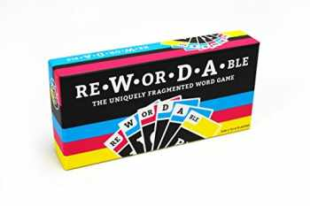 9781524761134-1524761133-Rewordable Card Game: The Uniquely Fragmented Word Game