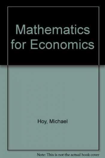 9780201553659-0201553651-Mathematics for Economics