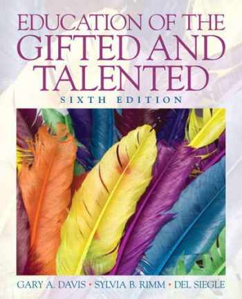 9780135056073-0135056071-Education of the Gifted and Talented (6th Edition)