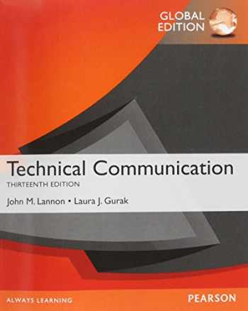 9781292019567-1292019565-Technical Communication, Global Edition [Paperback]