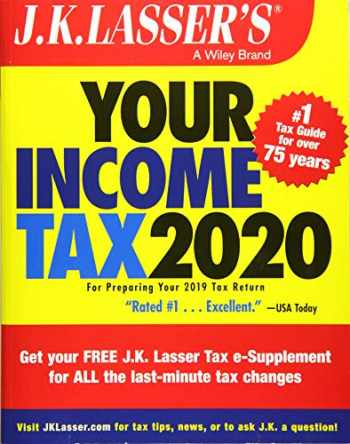 9781119595014-1119595010-J.K. Lasser's Your Income Tax 2020: For Preparing Your 2019 Tax Return