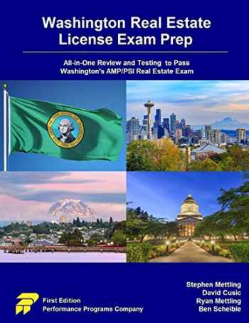 9780915777457-0915777452-Washington Real Estate License Exam Prep: All-in-One Review and Testing to Pass Washington's AMP/PSI Real Estate Exam