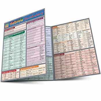 9781423204190-1423204190-Hebrew Vocabulary (Quick Study Academic)