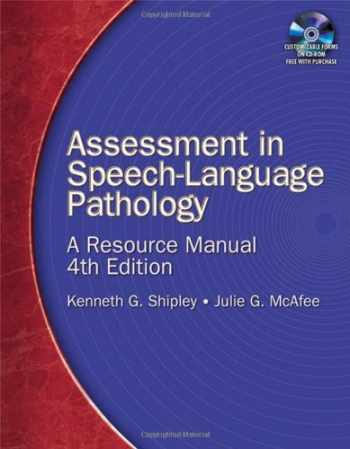 9781418053284-1418053287-Assessment in Speech-Language Pathology: A Resource Manual