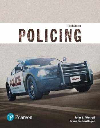 9780134441924-0134441923-Policing (Justice Series) (The Justice Series)