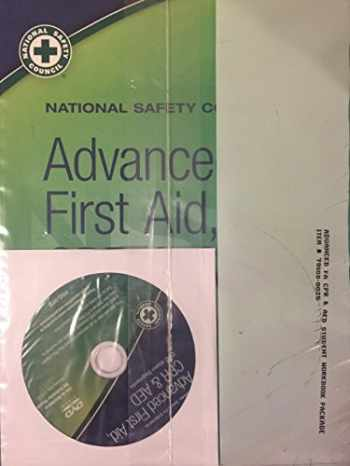 9780879123413-0879123419-ADVANCED FIRST AID,CPR,+AED
