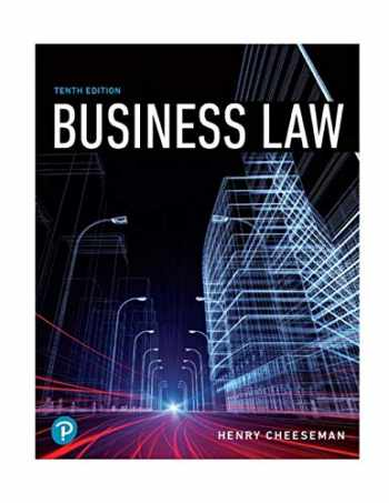 9780134728780-0134728785-Business Law (What's New in Business Law)