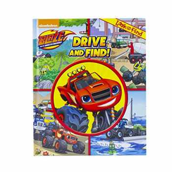 9781503711648-1503711641-Nickelodeon - Blaze and the Monster Machine Look and Find Activity Book: Drive and Find! - PI Kids
