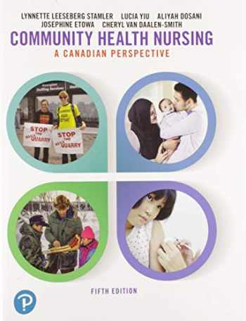 9780135309193-0135309190-Community Health Nursing: A Canadian Perspective Plus MyLab Nursing with Pearson eText -- Access Card Package (5th Edition)