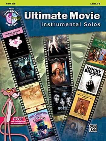 9780739091920-0739091921-Ultimate Movie Instrumental Solos: Horn in F, Book & CD (Ultimate Pop Instrumental Solos Series)