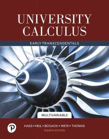 9780135165119-0135165113-University Calculus: Early Transcendentals, Multivariable