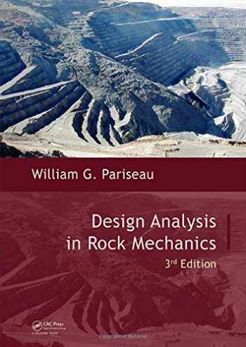 9781138029583-1138029580-Design Analysis in Rock Mechanics