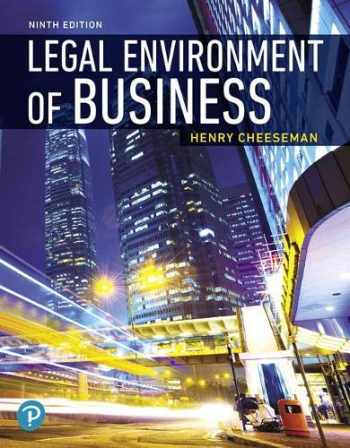 9780135173954-0135173957-Legal Environment of Business