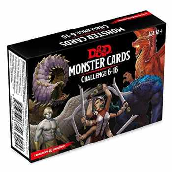 9780786966714-0786966718-Dungeons & Dragons Spellbook Cards: Monsters 6-16 (D&D Accessory)