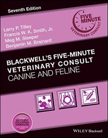 9781119513179-1119513170-Blackwell's Five-Minute Veterinary Consult: Canine and Feline