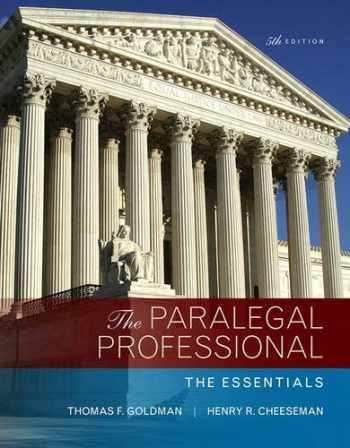 9780134130866-0134130863-The Paralegal Professional: The Essentials