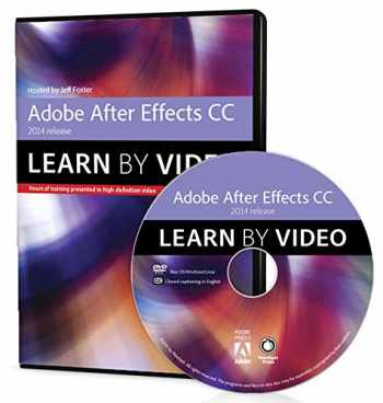 9780133928266-0133928268-Adobe After Effects CC Learn by Video (2014 release)