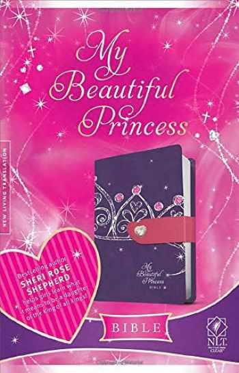 9781414375717-1414375719-My Beautiful Princess Bible NLT, TuTone (LeatherLike, Purple Crown)