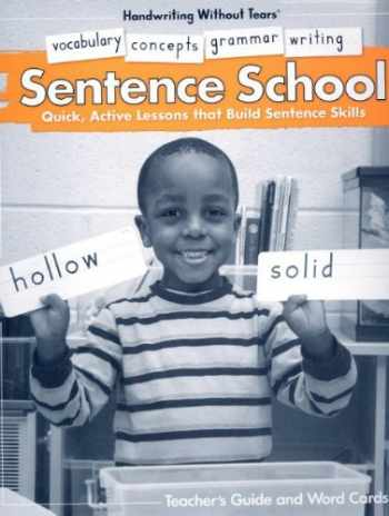 9781934825020-1934825026-Sentence School (Handwriting Without Tears) (Kindergarten)