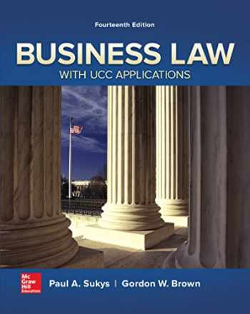 9780077733735-0077733738-Business Law with UCC Applications