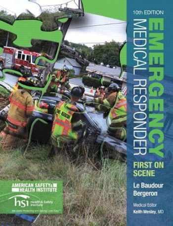 9780133943306-0133943305-Emergency Medical Responder: First on Scene (10th Edition) (EMR)