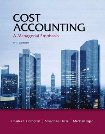 9780132109178-0132109174-Cost Accounting: A Managerial Emphasis