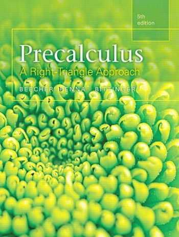 9780321969552-0321969553-Precalculus: A Right Triangle Approach