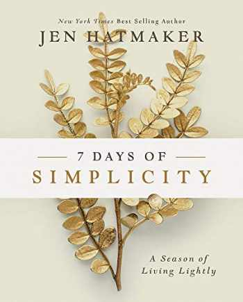 9781501888304-1501888307-7 Days of Simplicity: A Season of Living Lightly