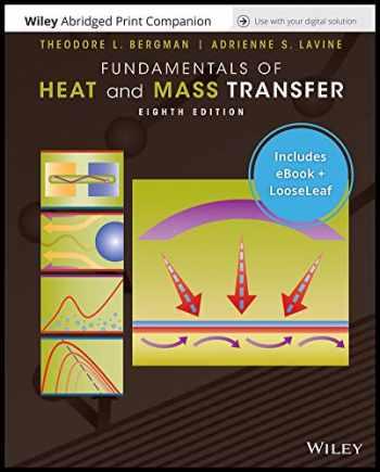 9781119582786-1119582784-Incropera's Principle of Heat and Mass Transfer Abridged Loose-Leaf Print Companion with Enhanced EPUB Reg Card