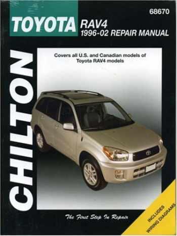 9781563924705-1563924706-Toyota RAV4 1996-2002 (Chilton's Total Car Care Repair Manual)