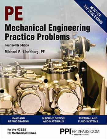 9781591266655-1591266653-PPI Mechanical Engineering Practice Problems, 14th Edition – Comprehensive Practice Guide for the NCEES PE Mechanical Exam