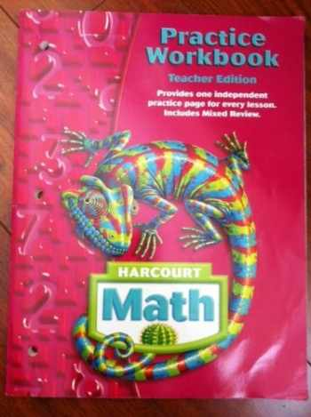 9780153364860-0153364866-Harcourt Math: Practice Workbook Teacher's Edition Grade 6
