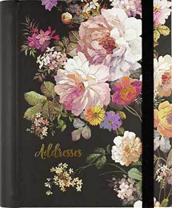 9781441334831-1441334831-Midnight Floral Large Address Book