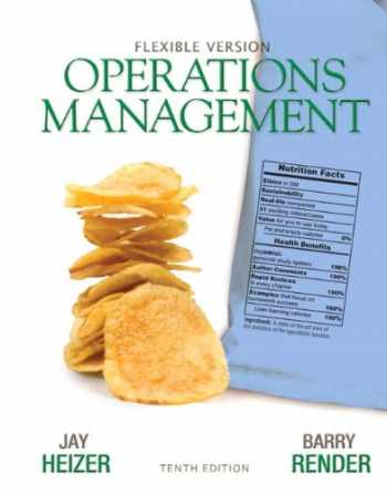 9780132931250-0132931257-Operations Management Flexible Version Plus Lecture Guide and Activities Manual Plus NEW MyOMLab with Pearson eText -- Access Card Package (10th Edition)