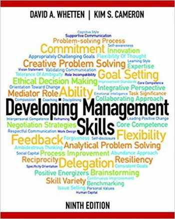 9780133127478-0133127478-Developing Management Skills (9th Edition)