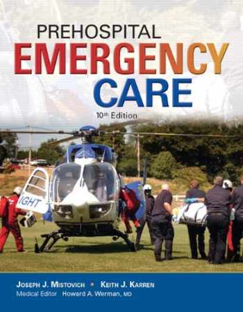9780134045061-0134045068-Prehospital Emergency Care; MyLab BRADY with Pearson eText -- Access Card -- for Prehospital Emergency Care, Package (10th Edition)