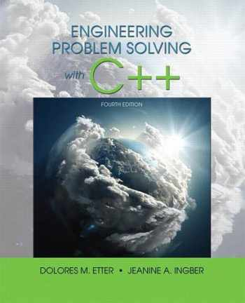 9780134444291-0134444299-Engineering Problem Solving With C++