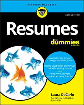 9781119539285-1119539285-Resumes For Dummies