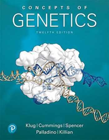 9780134604718-0134604717-Concepts of Genetics (12th Edition) (Masteringgenetics)