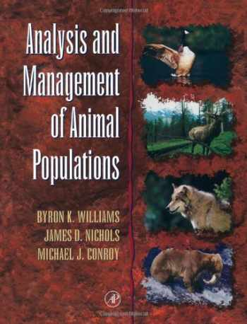 9780127544069-0127544062-Analysis and Management of Animal Populations